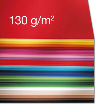 Tonpapier 130 g/m²   Mix-Sortiment